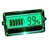 uniquegoods LCD Akku Kapazität Tester Anzeige für 12V 24V 48V KFZ Blei-Säure Lithium New Werkzeug