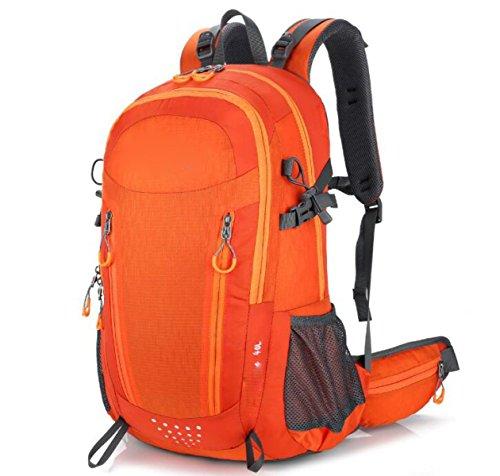 Borsa A Tracolla Multifunzione Classica Borsa A Tracolla Leggera Portatile Borsa Da Viaggio Casual Travel Satchel Canvas Zaino,Black Orange