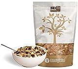 Zweiglein Bio Protein Low Carb Müsli Schoko-Nuss, 2er Pack (2 x 435g) - nur 12g Kohlenhydrate - 29% Protein - getreidefrei - laktosefrei - kohlenhydratreduziert
