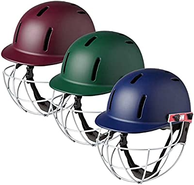 Gunn & Moore 5018Purist Geo deportes de críquet Batsman casco azul marino Senior grande
