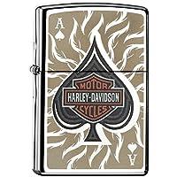 Zippo Harley Davidson Spade High Polish Chrome Accendino (28688)