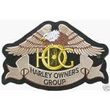 Generico Piccola Toppa Patch Aquila Hog Harley Davidson Modello Classico