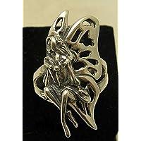 Elegante anello in argento 925 fiore fatato R000880 Empress