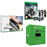 Xbox One S 500 GB + Forza Horizon 3 + Destiny 2 + Kit Play and Charge
