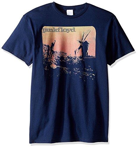 Pink Floyd Herren T-Shirt - Blau - 4X-Groß