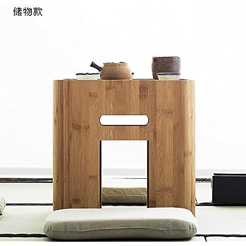AQPDJ Moderno creativo ammettere attuazione mobili in bambù di archiviazione multifunzione attuazione giapponese caffè informale panche di legno , attuazione o
