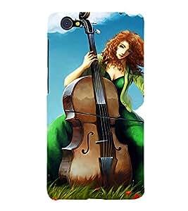 PrintVisa Designer Back Case Cover for Vivo X5Pro :: VivoX5Pro (leaf waterflower paint frame pattern)