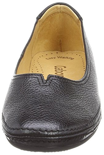 Gabor - Change, Ballerina da donna Nero (Black (Black Leather))