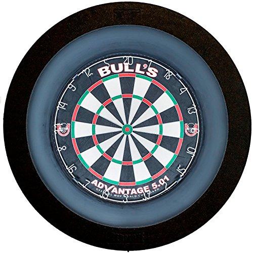 *Bulls termote 2.0LED Dartscheibe Beleuchtung System–mit Schwarz Surround und Dimmer*