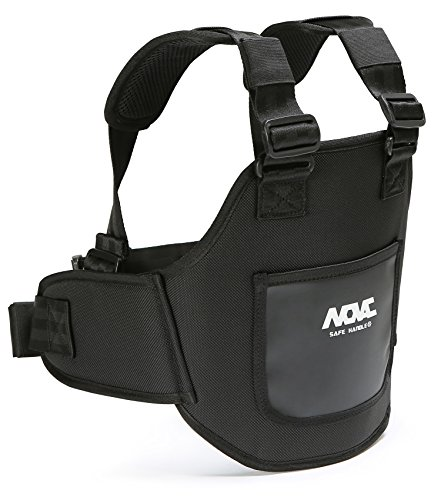 NOVAC Erwachsene 1600Polymat N Span Mesh Mini Crossbody Tasche Pack Smartphone, Gear KID (Schwarz) - Novac-1 (Leder-nierengurt)