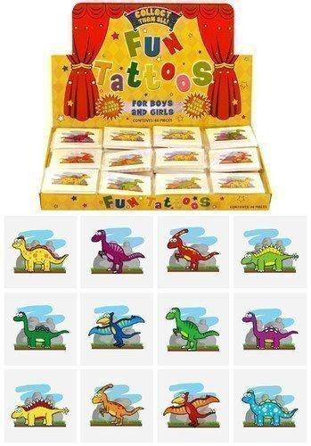 der Temporäre Tattoos Transfer Spielzeug Party Geschenke Dinosaurier (Dinosaurier Party-thema)