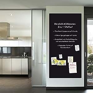 schultafel selbstklebend magnetisch tafelfolie wandfolie kreidetafel wandtafel kindertafel. Black Bedroom Furniture Sets. Home Design Ideas