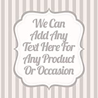 Damask Grey Square V3 Sticker Labels Personalised Seals Ideal for Party Bags, Sweet Cones, Favours, Jars, Presentations Gift Boxes, Bottles, Crafts