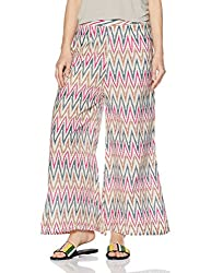 Libas Womens Palazzo (PL209_Multicoloured_M)