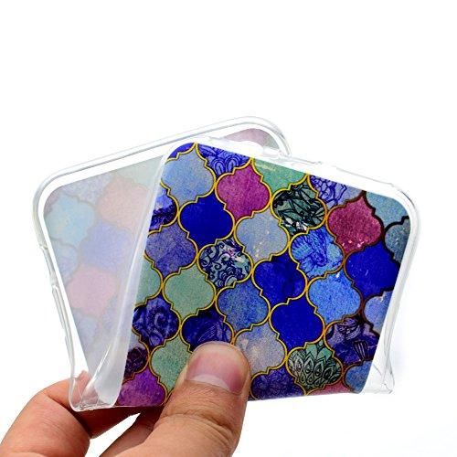 Per iPhone X Cover , YIGA nero Silicone Morbido TPU Case Caso Shell Protezione Copertura Custodia Copertina per Apple iPhone X (5,8 pollici) AK57