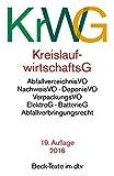 Kreislaufwirtschaftsgesetz (KrWG) (dtv Beck Texte)