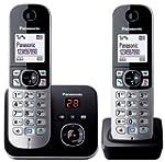 Panasonic KX-TG6822EB Twin DECT Cordl...