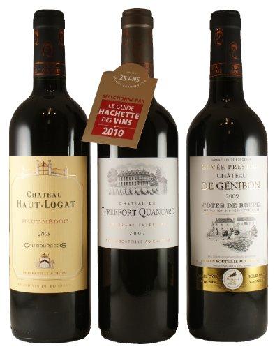 Bordeaux- Genießer-Paket (3er Paket)
