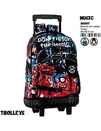 Montichelvo Montichelvo Trolley CG Music Bolso de Viaje, 46 cm, (Multicolour)