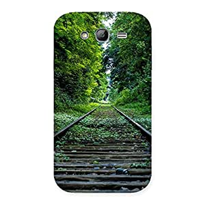Special Beautiful Track Green Back Case Cover for Galaxy Grand