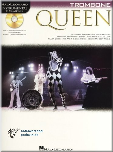 Queen - Instrumental Play-Along Trombone - Posaune Noten [Musiknoten]