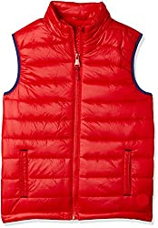 Mothercare Boys Quilted Regular Fit Jacket (MD002-1_Red_7-8 Y)