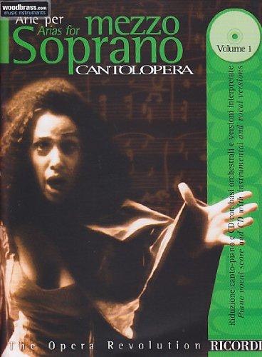 Cantolopera, Volume 1 : Mezzo-soprano et piano