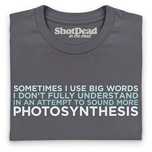 I Use Big Words T-Shirt, Damen Anthrazit