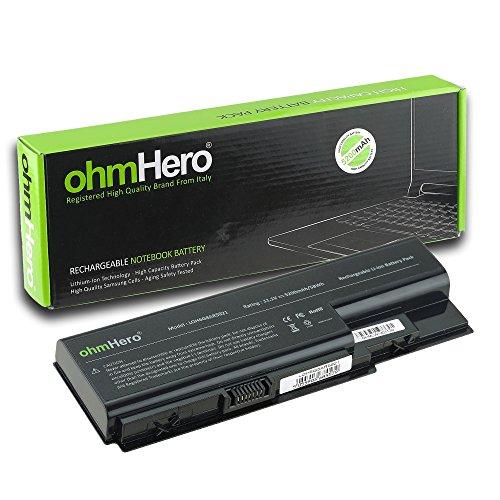Echte ohmhero Akku 5200mAh 10,8V für Notebook Acer Aspire 8735G