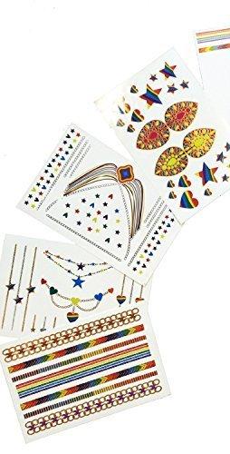 sobe-tatts-starlite-rainbow-metallic-tattoos-4-sheets-by-sobe-tatts