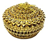 #9: SFH Traders Plastic Gold Finished Container/Decorative Diwali Gift Box