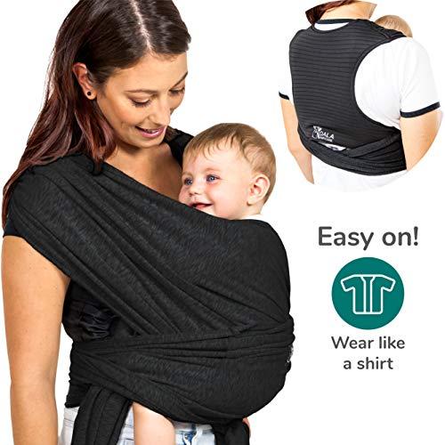Koala Babycare® Une écharpe de portage facile à enfiler, réglable, unisex | Porte-bébé...