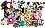 Best Phone Cases Skateboards - GADGETS WRAP Stickers,100pcs Cool Vinyls Graffiti Stickers Review
