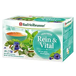 Bad Heilbrunner Rein Vital, 20er Filterbeutel, 1er Pack (1 x 40 g)