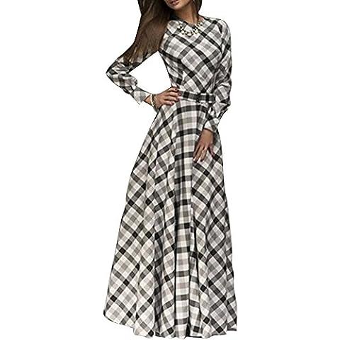 SaiDeng Elegante Vendimia Mujer Vestidos De Noche Manga Larga Plisado Vestidos De Cóctel Vestido