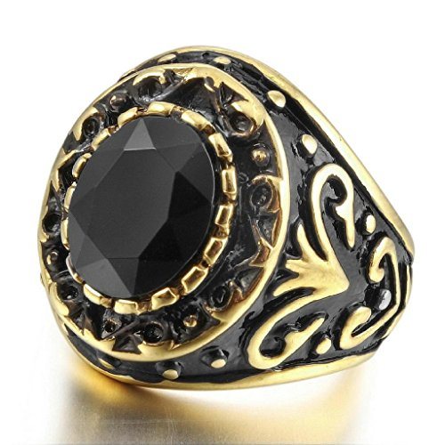 epinkifashion-jewelry-mens-stainless-steel-rings-agate-gold-black-engraved-vintage-size-p-1-2