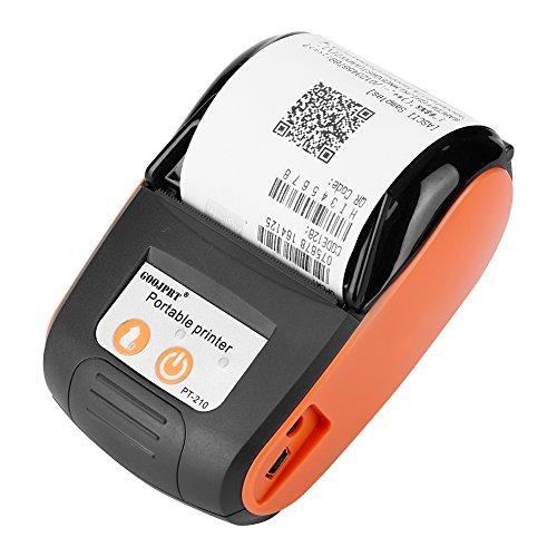 Eboxer 58MM Bluetooth Inalámbrico Impresora Térmica