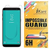 iKare Sajni Creations Plastic Fibre Unbreakable Flexible Tempered Screen Guard for Samsung Galaxy J6 - Transparent