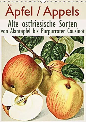 Äpfel/Appels. Alte ostfriesiache Sorten (Wandkalender 2019 DIN A3 hoch): Von Alantapfel bis Purpurroter Cousinot (Monatskalender, 14 Seiten ) (CALVENDO Natur)