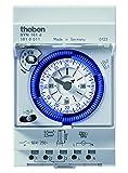 Theben SYN 161 d Reiheneinbau-Schaltuhr 24 Stunden, Segmente, 3 TLE, 1610011