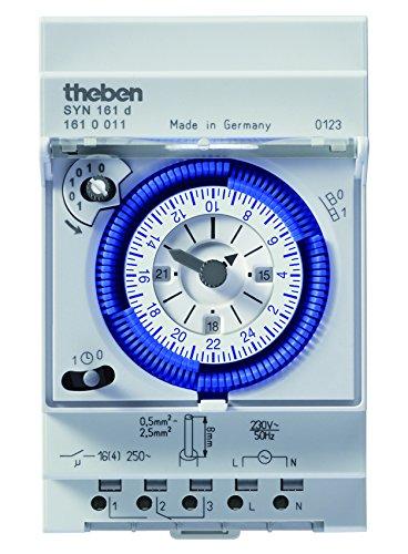 Theben, Interruttore Orario Analogico con Programma Giornaliero - 5186405