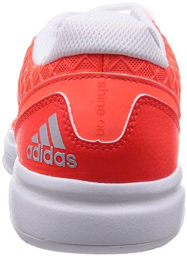adidas Damen Tennisschuhe Sonic Allegra solar red/silver met./ftwr white