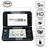 [2 Pack] Guran® Glass Protector pour Nintendo New 3DS XL Screen Verre Trempé Protecteur d'écran Résistant aux éraflures