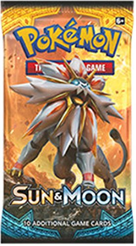 """Image of Pokemon 14605 - S """"TCG Sun and Moon"""" Booster Packet"""