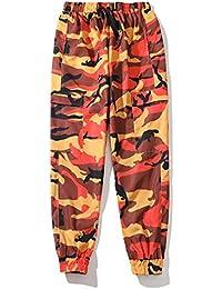 Idopy Camo Cargo Giovani Pantaloni Unisex Pantaloni Casual