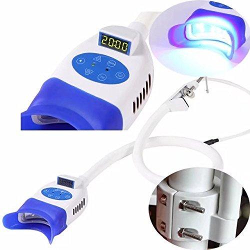 Athenadental Fría lámpara de luz LED de Blanqueamiento Dental Dientes blanqueantes Acelerador Hold Silla