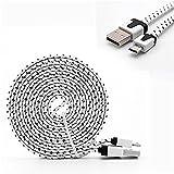 YANSHG® micro cavo USB treccia veloce cavo del caricatore USB a micro USB 2,0 Android cavo di ricarica per Samsung Galaxy S7/S6/S5/Edge, nota 5/4/3, LG, Nexus, HTC, Nokia, PS4