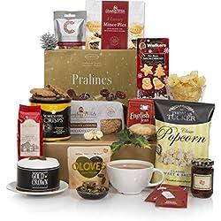 Präsentkorb Bedeutungsvolle Geschenke – Körbe & Geschenkkörbe – Luxuriöse Geschenke zum Essen, ideal als Geburtstagsgeschenk und Geschenkidee