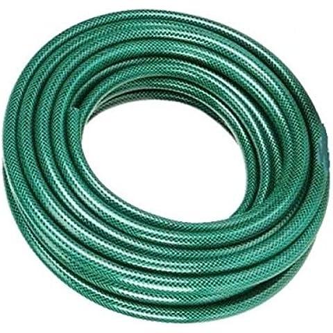 Generic al aire libre jardín carrete de manguera tubo de agua 15m m PVC reforzada tubo todas las estaciones < 1& 1558* 2>