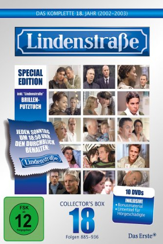Lindenstraße - Das komplette 18. Jahr (Special Edition mit Brillen-Putztuch, 10 DVDs)